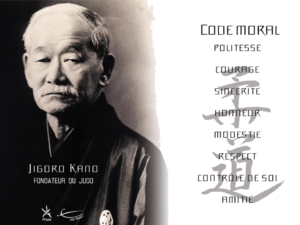 Le code moral du judoka